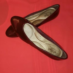 Hush Puppies Shoes - Red flat shoes