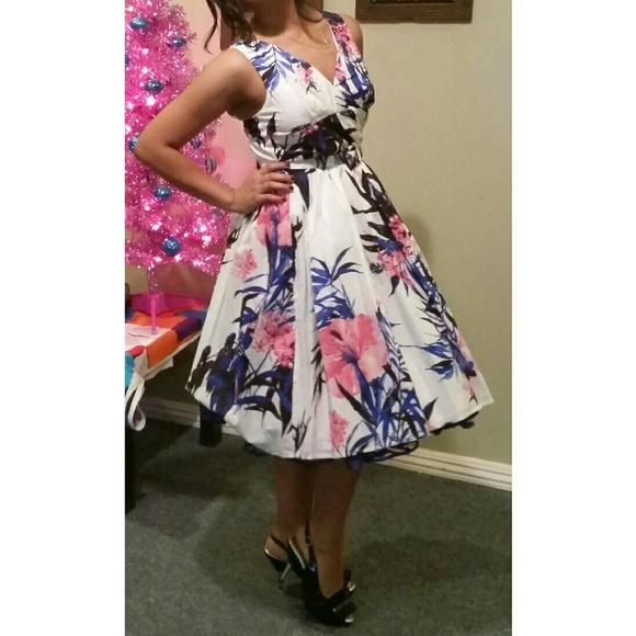 Aryeh Dresses 50s60s Swing Dress Betty Draper Marilyn