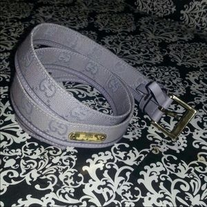 Authentic Gucci lavender belt