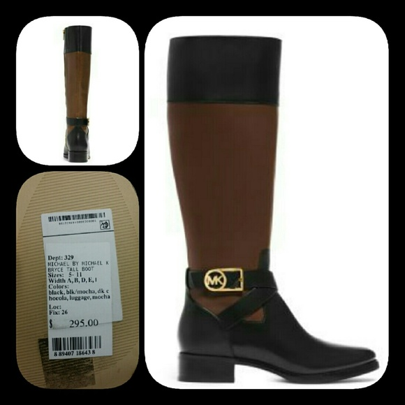 080595b0aa3 Michael kors BRYCE TALL BOOTs Boutique