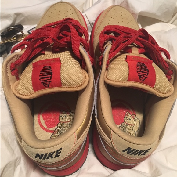 new arrival 32570 f5235 Nike Sb Money Cat Lows size 8 NWT
