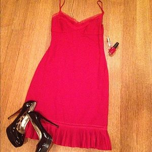 🎉💋4X HP💋🎉 BCBG sexy red cocktail dress NWOT