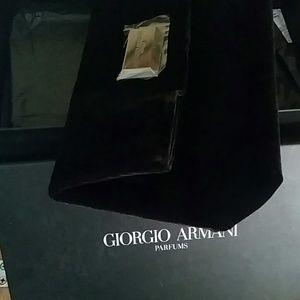 8dcecea0a2fa Giorgio Armani Bags - New in Box Velvet HUGEGiorgio Armani Clutch
