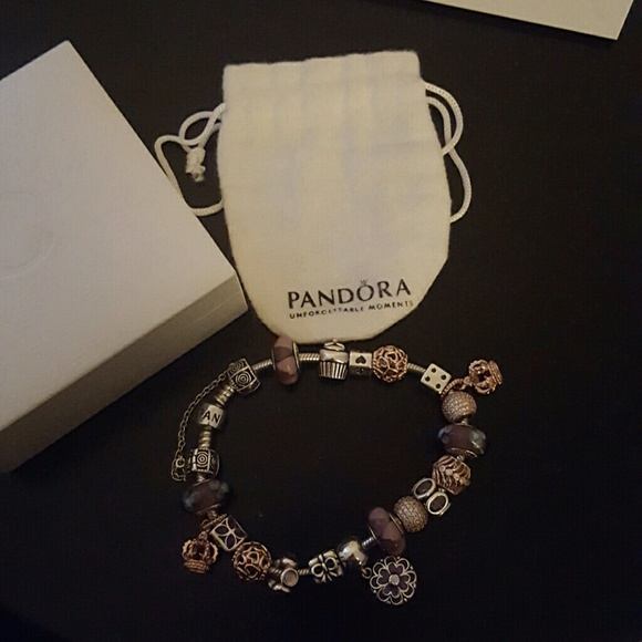 What Jewelry Store Sells Pandora: Original Bracelet Rose Gold And Sterling