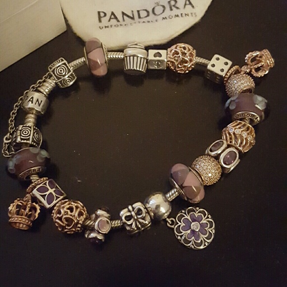 60 off pandora jewelry pandora original bracelet rose