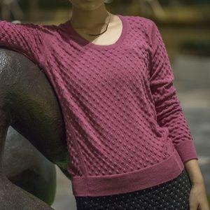 Emily Keller Sweaters - NWT Merino Wool Cotton Texture Sweater