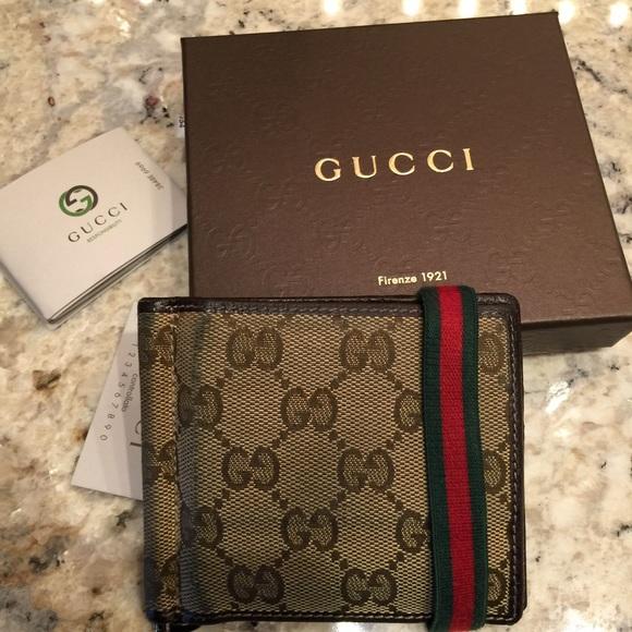 9cad189583e0 Gucci Accessories | Mens Money Clipcard Holder | Poshmark