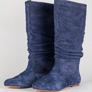 ugg australia amoret suede heeled boots