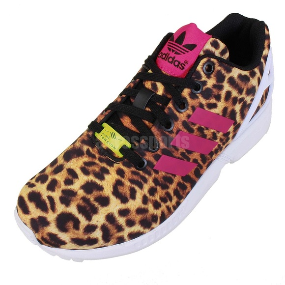Adidas Torsion Sneakers Leopard Print