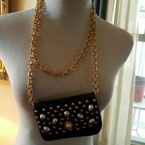 2XHOST PICK Vintage bejeweled mini shoulder bag