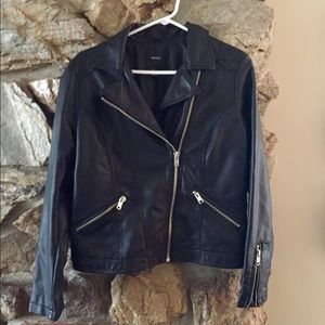 NWOT leather jacket from Forever 21