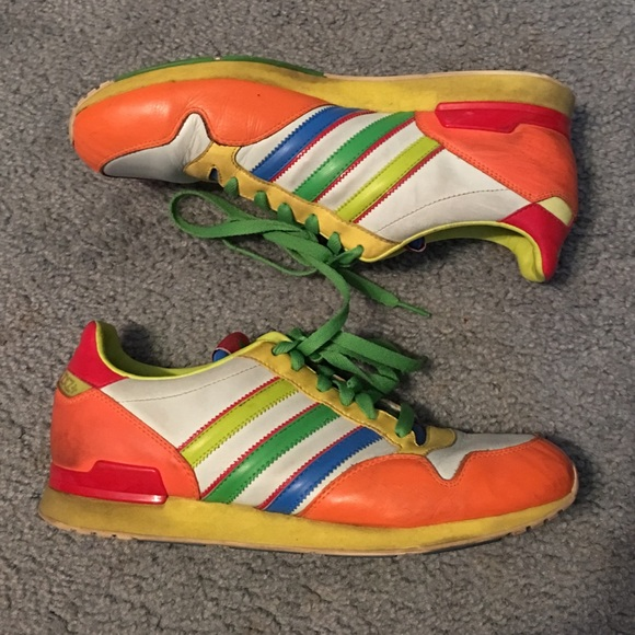 Multi coloured ZXZ+ Adidas sneakers