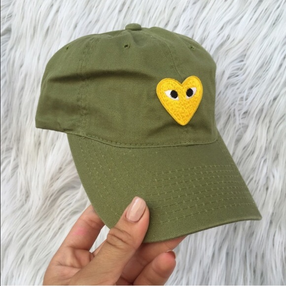 Comme des Garcons Accessories - Comme des Garçons Heart Baseball Hat ef0dc2a35505