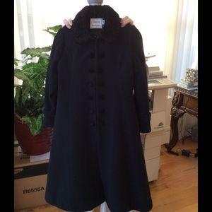 Florence Eiseman Other - Like-New Girls' Black Florence Eiseman Wool Coat