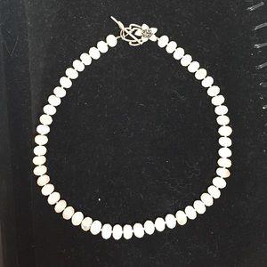 Jewelry - Light pink gemstone necklace
