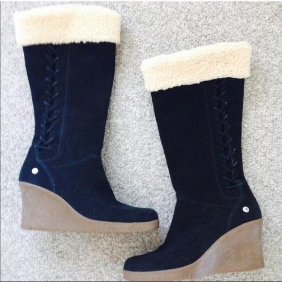 d41a193242dc UGG Wedge Boots. M 56689f778e1c61b8ce02d9c1