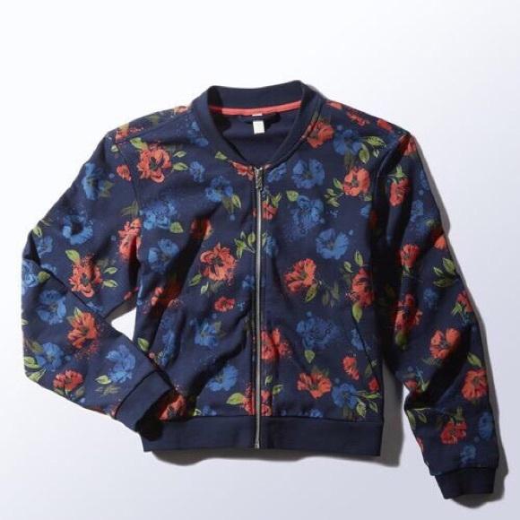 unos dias venta diseñador de moda 💕Women Adidas NEO Bomber Jacket💕
