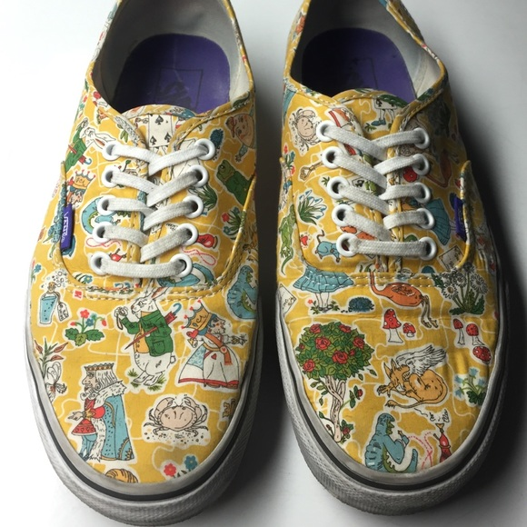 9ba308472d alice in wonderland   liberty of london vans. M 5668aa32729a66ecb902e229