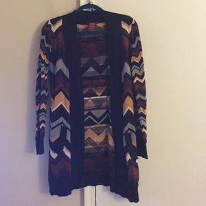 MISSONI FOR TARGET- multi colored cardigan Sz S