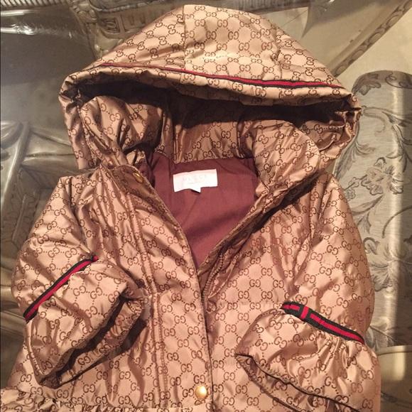 8c7fe1133 Gucci Jackets & Coats   Infants Girls Jacket   Poshmark