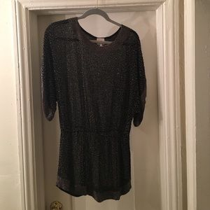 Vintage sequin mini dress