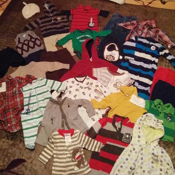 b6c67defbd5cc Huge lot name brand & designer baby boys clothes