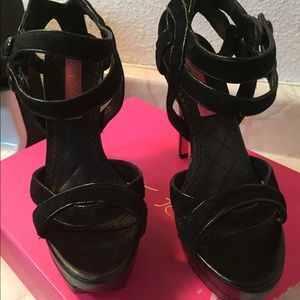 Betsey Johnson Platform High Heels
