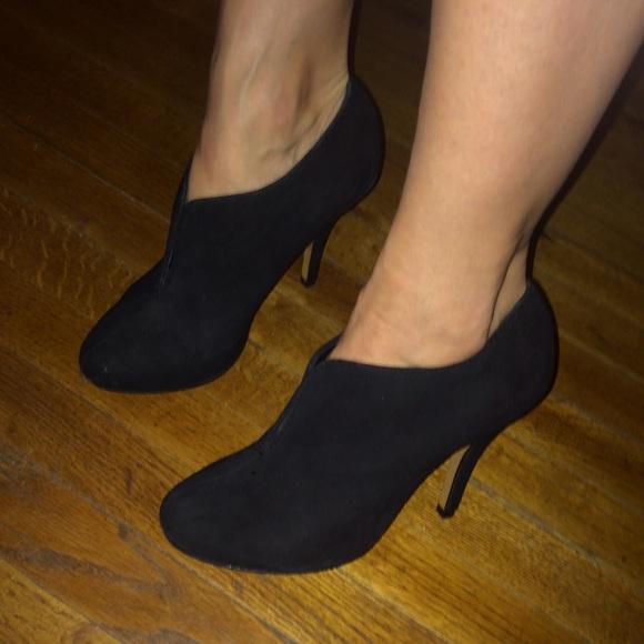 Aldo Shoes   Black Suede Aldo Tallo