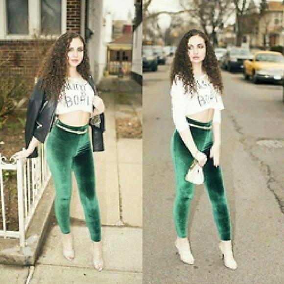 d80e727dd9cd8 American Apparel Pants - American Apparel Velvet Leggings M