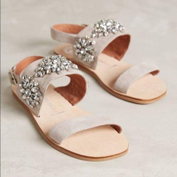 672c23029f3a1 Anthropologie Shoes - Anthropologie Jeffrey Campbell Dola sandals sz9