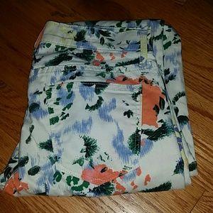 GAP Denim - GAP 26x28 1969 floral legging jeans FINAL PRICE!!!
