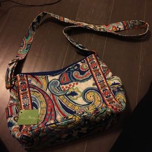 On the go Marina Paisley cross body