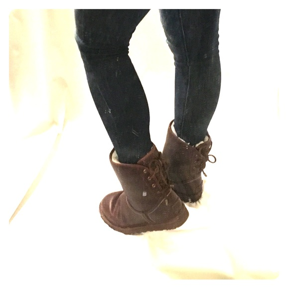 6ff39880bb9f Ugg Australia Mariana Leather Short Boots