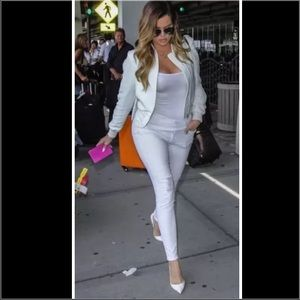  Kardashian kollection distressed ankle jeans