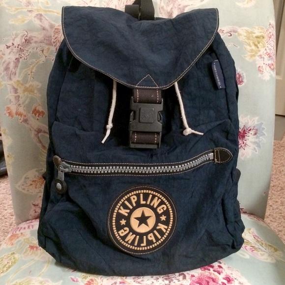 Kipling Bags 90s Backpack Poshmark
