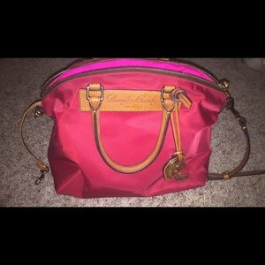 Dooney & Bourke red satchel