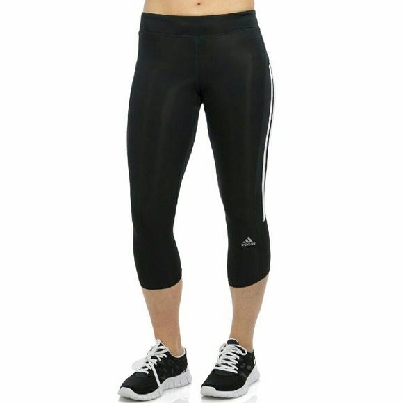 6c6817abb9f adidas Pants | Response Climalite Running Capris | Poshmark