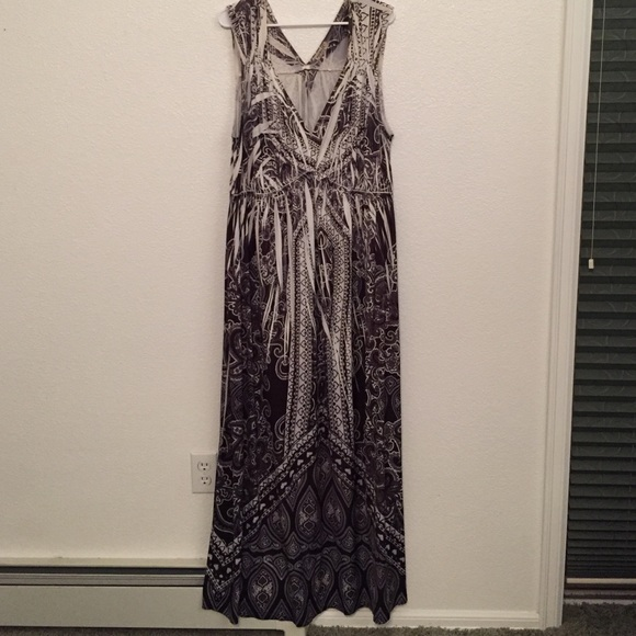 Plus Size One World Maxi Dress