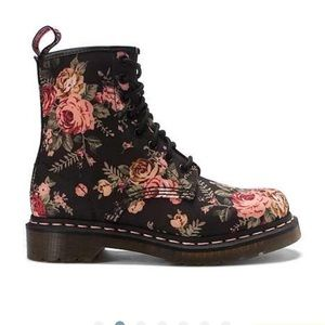 65 doc marten shoes floral canvas doc martens from