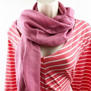 New  Pink Pashmina Style Scarf from Lil+Lo