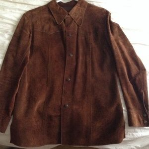 Jackets & Blazers - Beautiful raw hide brown jacket
