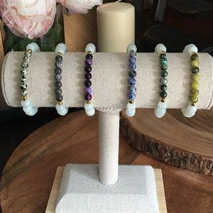 Function & Fringe Jewelry - Gemstone stacking bracelets