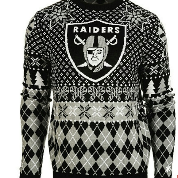 Sweaters Oakland Raiders Ugly Xmas Sweater Poshmark