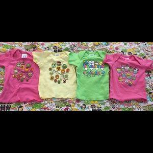 Baby girl t shirts Taj Clubhouse Hawaii