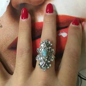 Jewelry - 🎉HP 12/14🎉Larimar stone and 925 silver