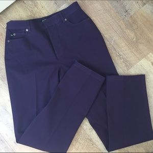 螺final sale螺 Purple Peck & Peck pants size 4