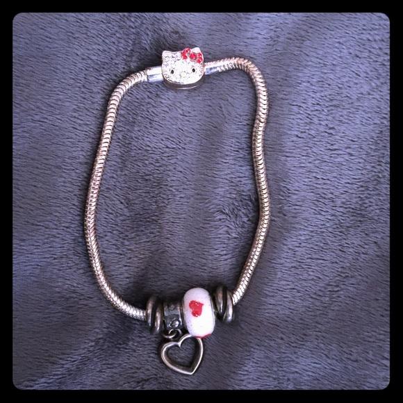 0b1617849 Kay Jewelers Jewelry | Pandora Bracelet With Hello Kitty Clasp ...