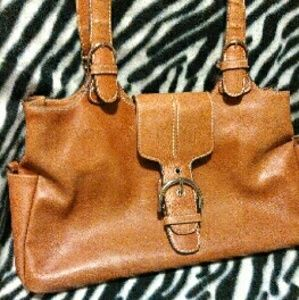 Bellerose leather handbag
