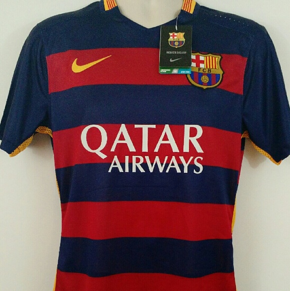 Nike Tops - New 2016 Messi 10 Barcelona Soccer Football Jersey