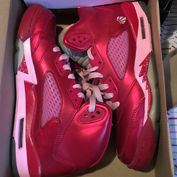 huge discount ee286 e5a87 Jordan Valentine's Day 5s limited edition